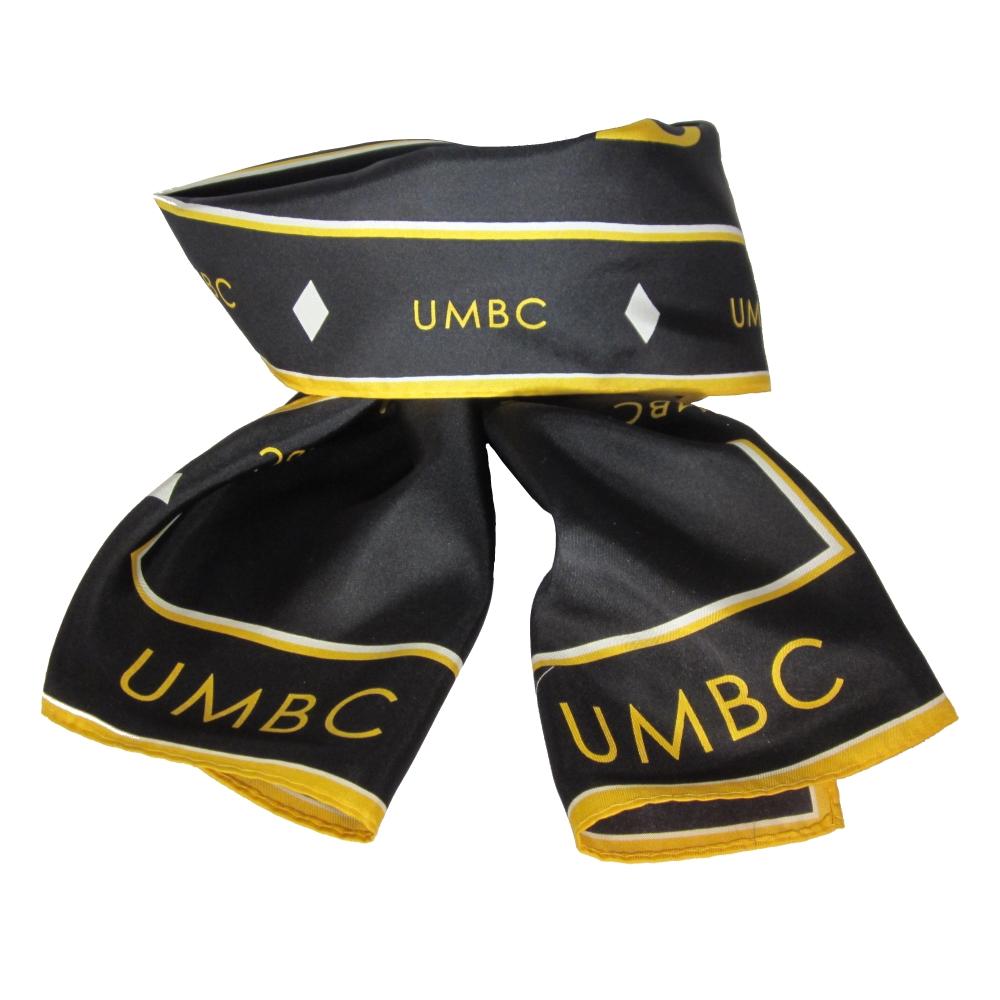 UMBC SILK SCARF