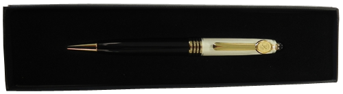 WHITE (PEARL)/BLACK PEN