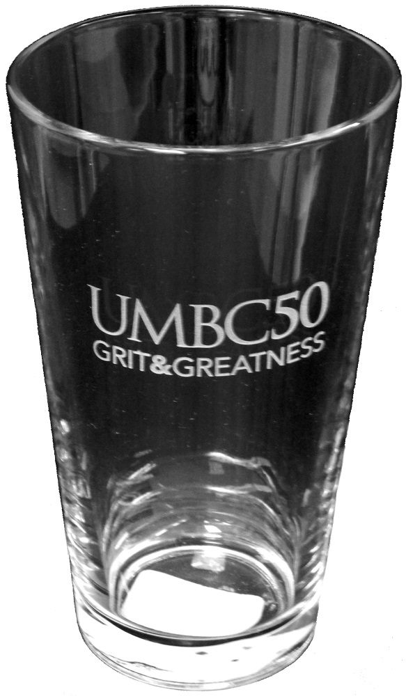 50TH: ETCHED MIXING GLASS