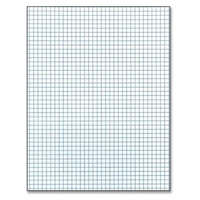 GRID PAPER PAD: 8.5X11 (5X5)