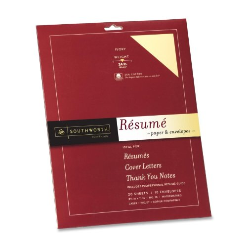 RESUME PAPER & ENVELOPES