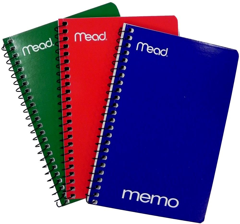 """MEMO BOOK: 4"""" X 6"""" SIDE OPEN"""