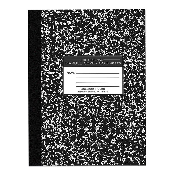 COMPOSITION BOOK: COLLEGE