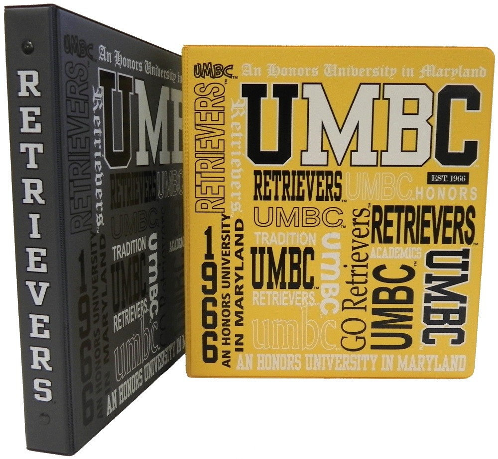 "BINDER: 1"" UMBC COLLAGE"
