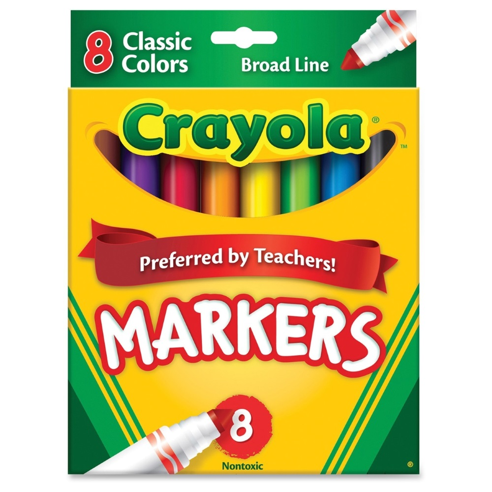 MARKERS: BROAD CLASSIC
