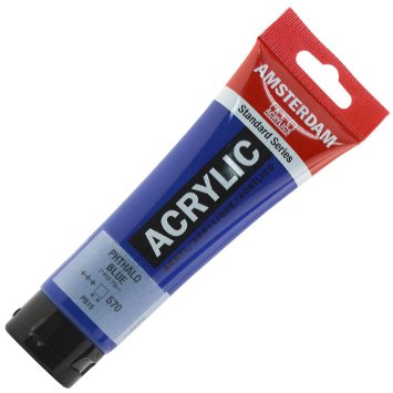 ACRYLIC PAINT: PHTHALO BLUE