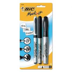 MARKERS: BIC MARK-IT ASSORTED