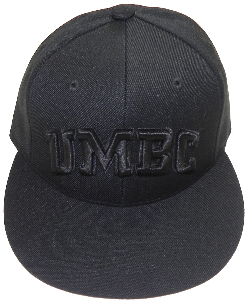 CAP: 510W BRIM BLACK ON BLACK