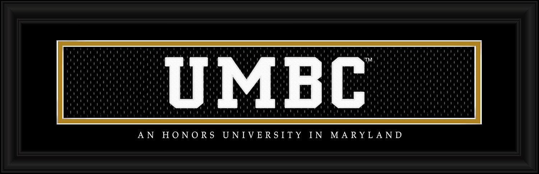 FRAMED UMBC PICTURE