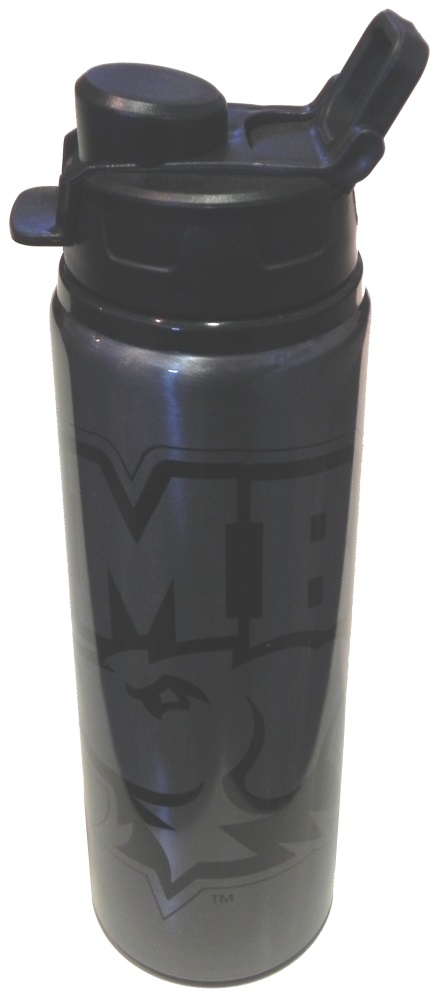 WATER BOTTLE: SAVANNAH ALUMINUM GRAPHITE