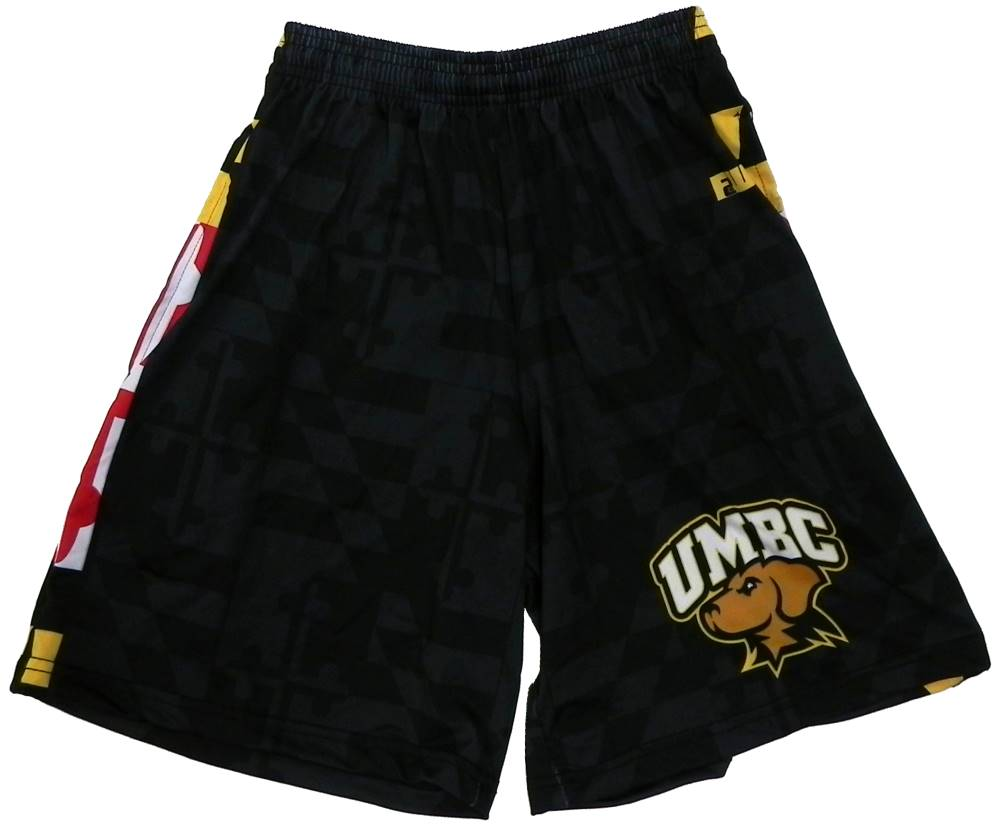 SHORTS: MD BLK FLAG