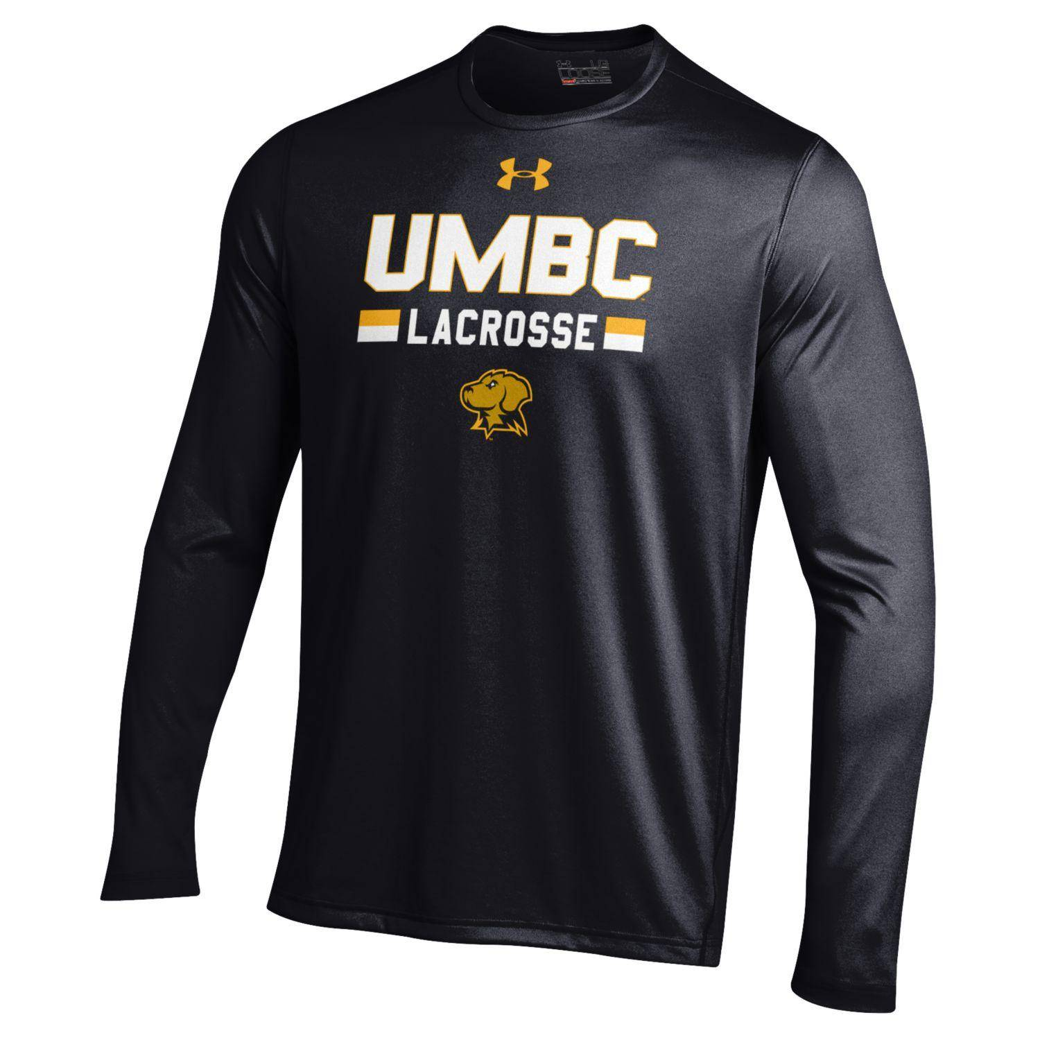 LACROSSE UNDER ARMOUR UMBC LONG SLEEVE TECH
