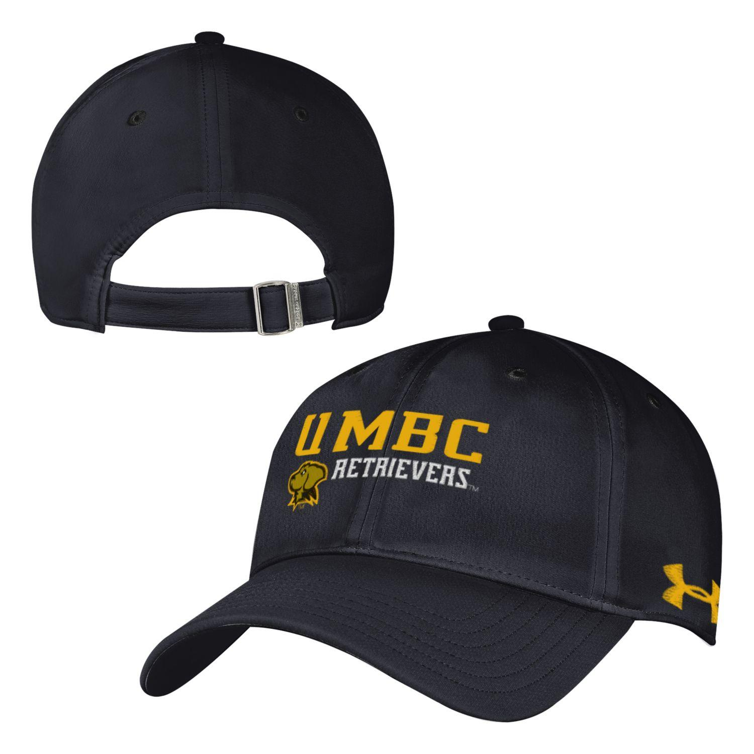 CAP: UNDER ARMOUR BLACK RENEGADE ADJUST