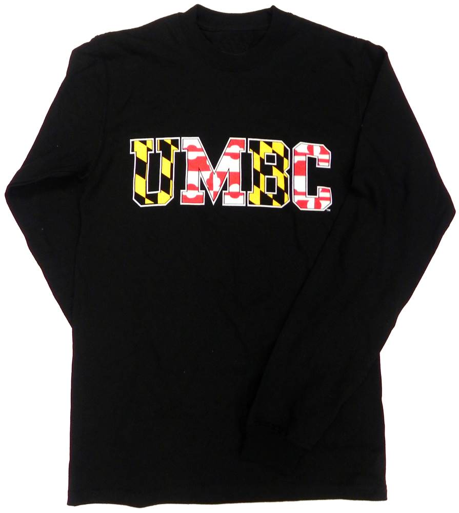 LONG SLEEVE T-SHIRT: MARYLAND BLUE 84
