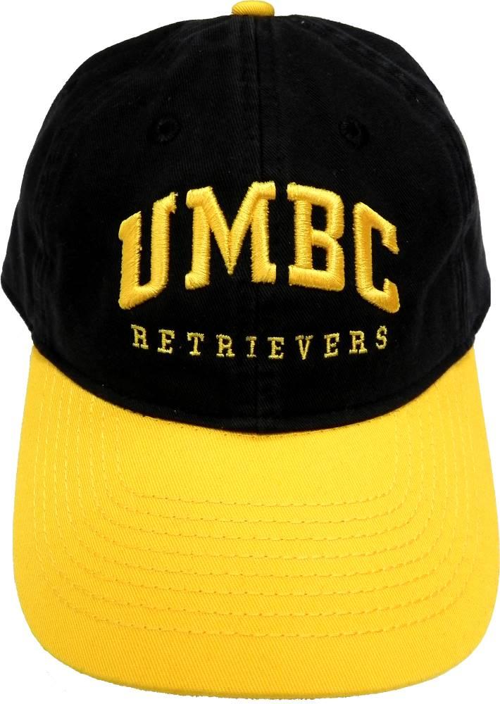 CAP: BLK/GOLD EZA UMBC