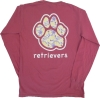 LONG SLEEVE T-SHIRT: PAISLEY PAW