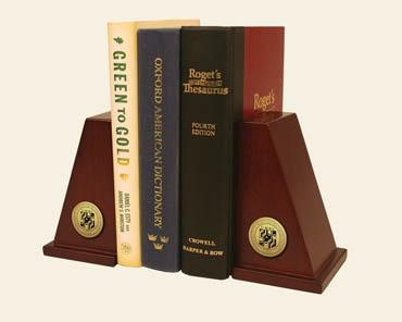 BOOKENDS HARDWOOD WITH UMBC SEAL