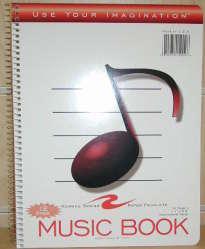 MUSIC BOOK SPIRAL