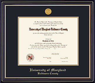 FRAMING SUCCESS PRESTIGE DIPLOMA FRAME WITH MEDALLION