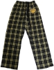 FLANNEL PANTS BLK/GLD