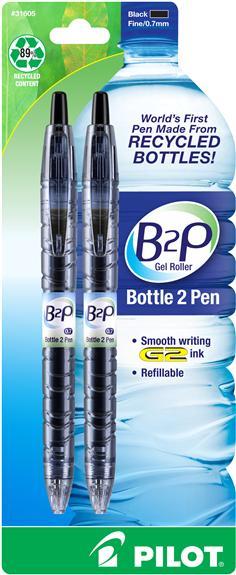 B2P GEL PEN (BLUE/FINE)