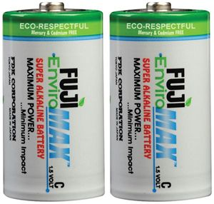 FUJI ENVIROMAX C BATTERY 2 PACK