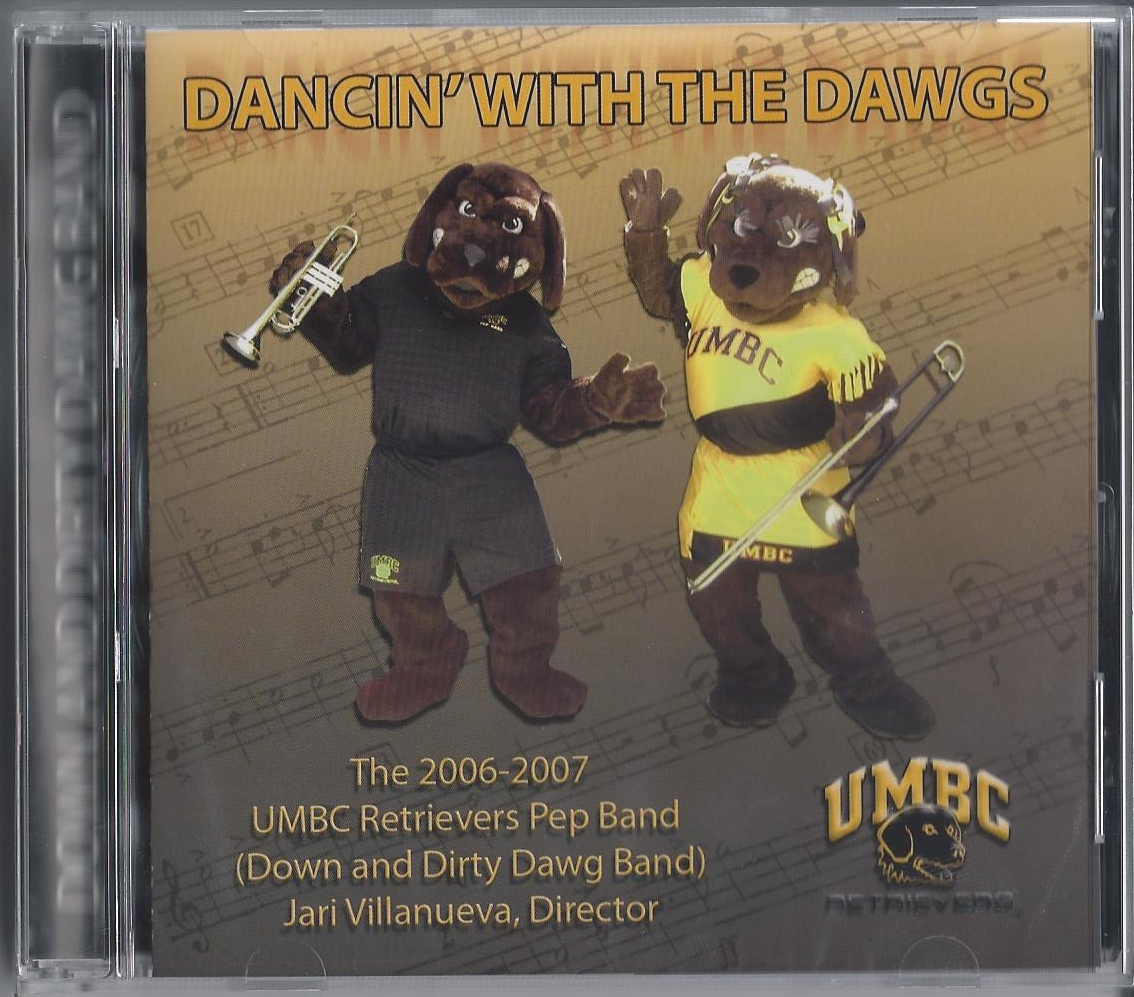 MUSIC: UMBC PEP BAND CD: DANCIN' WITH THE DAWGS