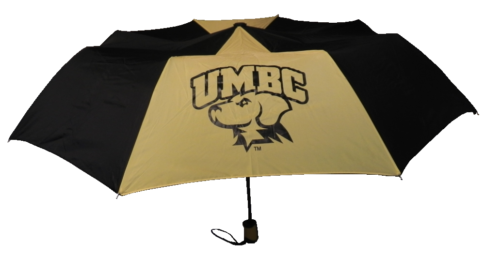 UMBRELLA SPIRIT DELUXE UMBC LOGO