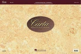 CARTA MANUSCRIPT PAPER #27