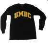 BASIC BLACK AND GOLD LONG SLEEVE T-SHIRT