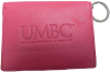 WALLET: UMBC LEATHER ID HOLDER PINK