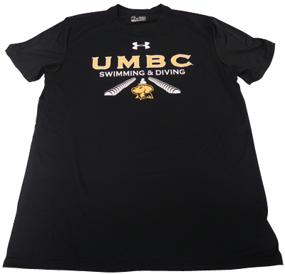 SWIMMING & DIVING UNDER ARMOUR BETA T-SHIRT