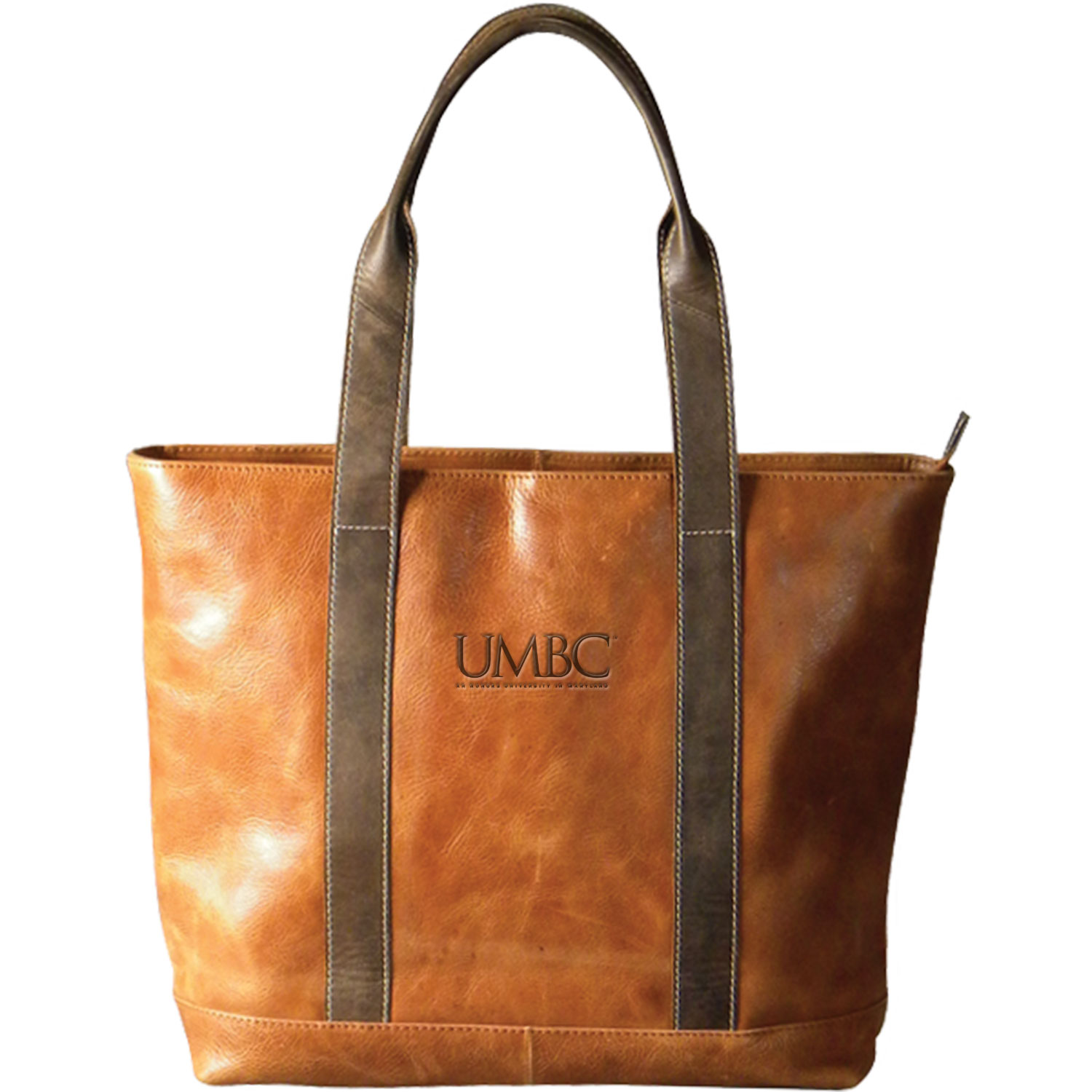 Cover Image For TWO TONE LEATHER TOTE