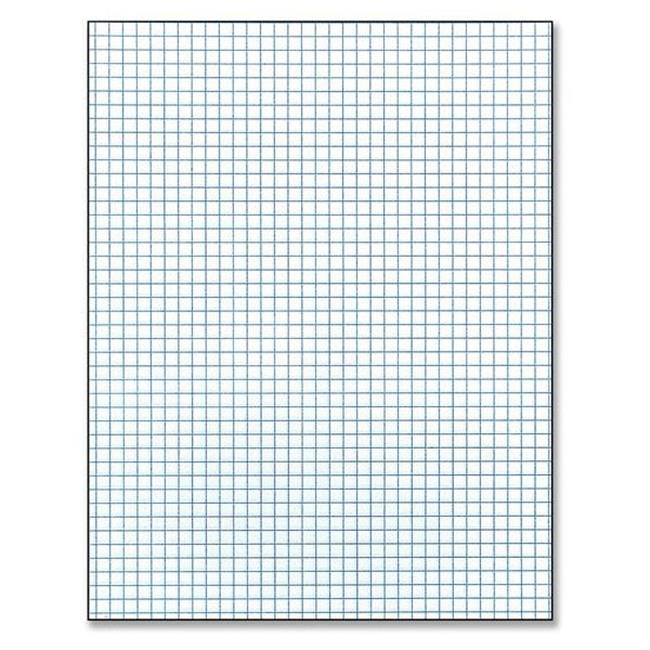 Image For GRID PAPER PAD: 8.5X11 (4X4)