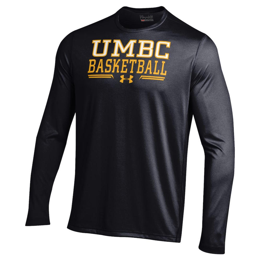 Cover Image For BASKETBALL UNDER ARMOUR LONG SLEEVE T-SHIRT