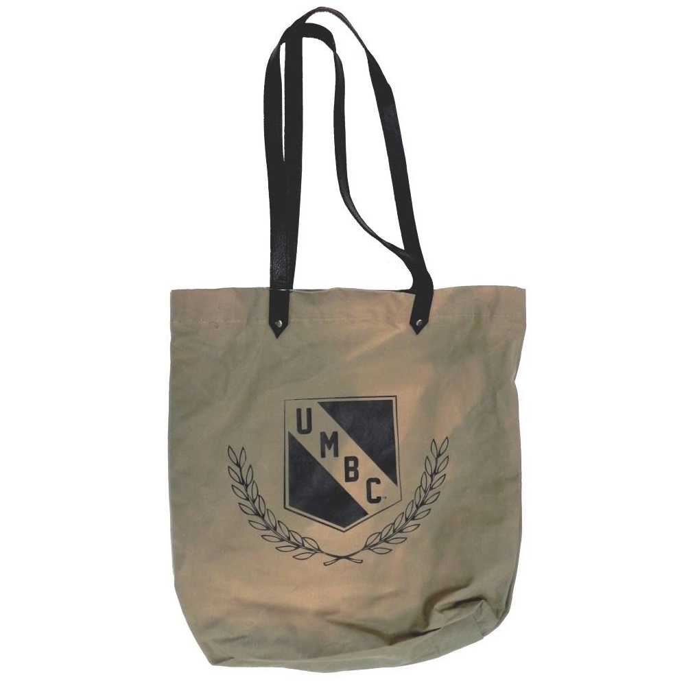 Image For WAXED COTTON SHOPPER TOTE