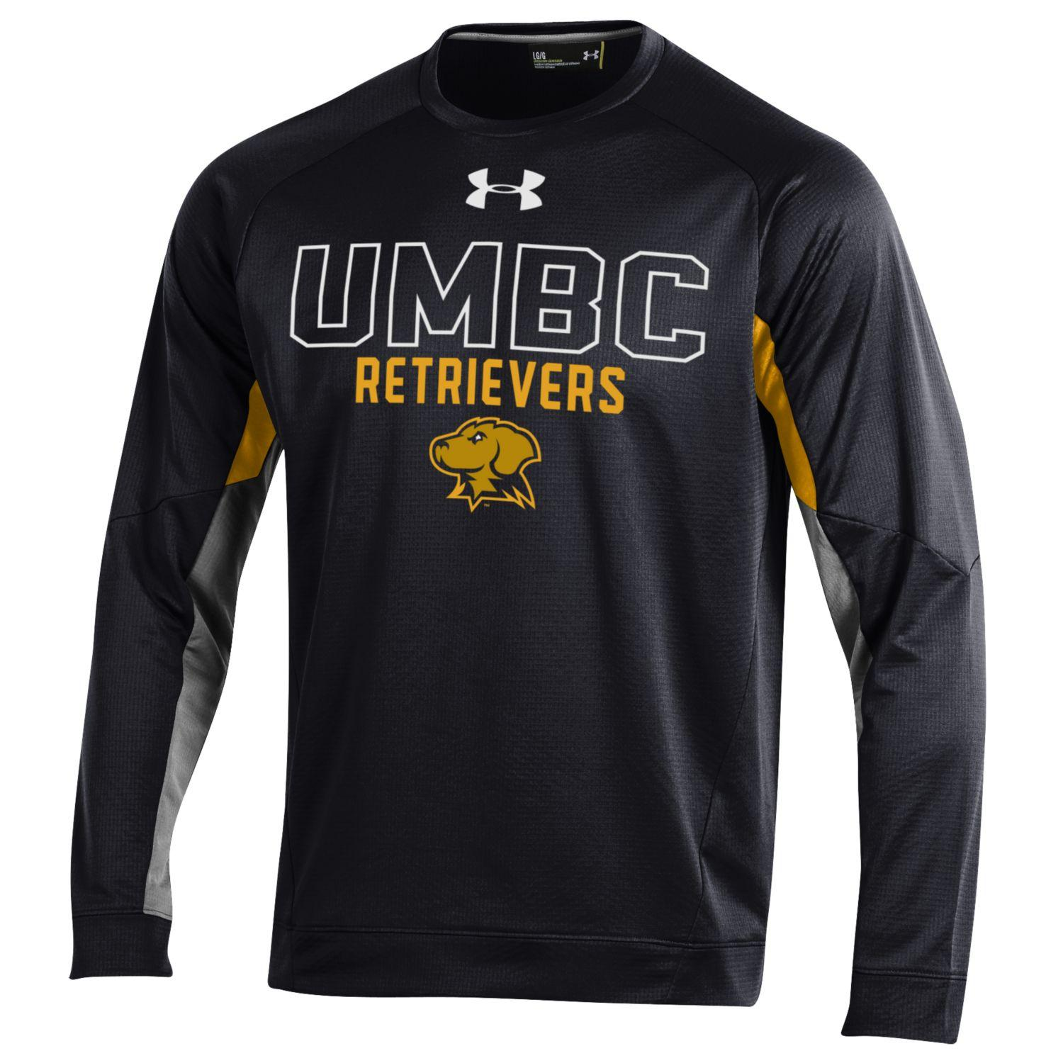 Image For CREW NECK SHIRT: UNDER ARMOUR GRID FLEECE