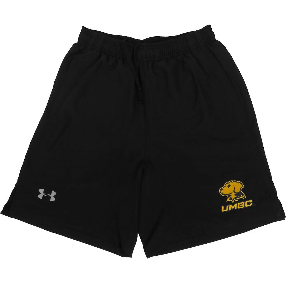 Image For SHORTS: UNDER ARMOUR RUN BLACK