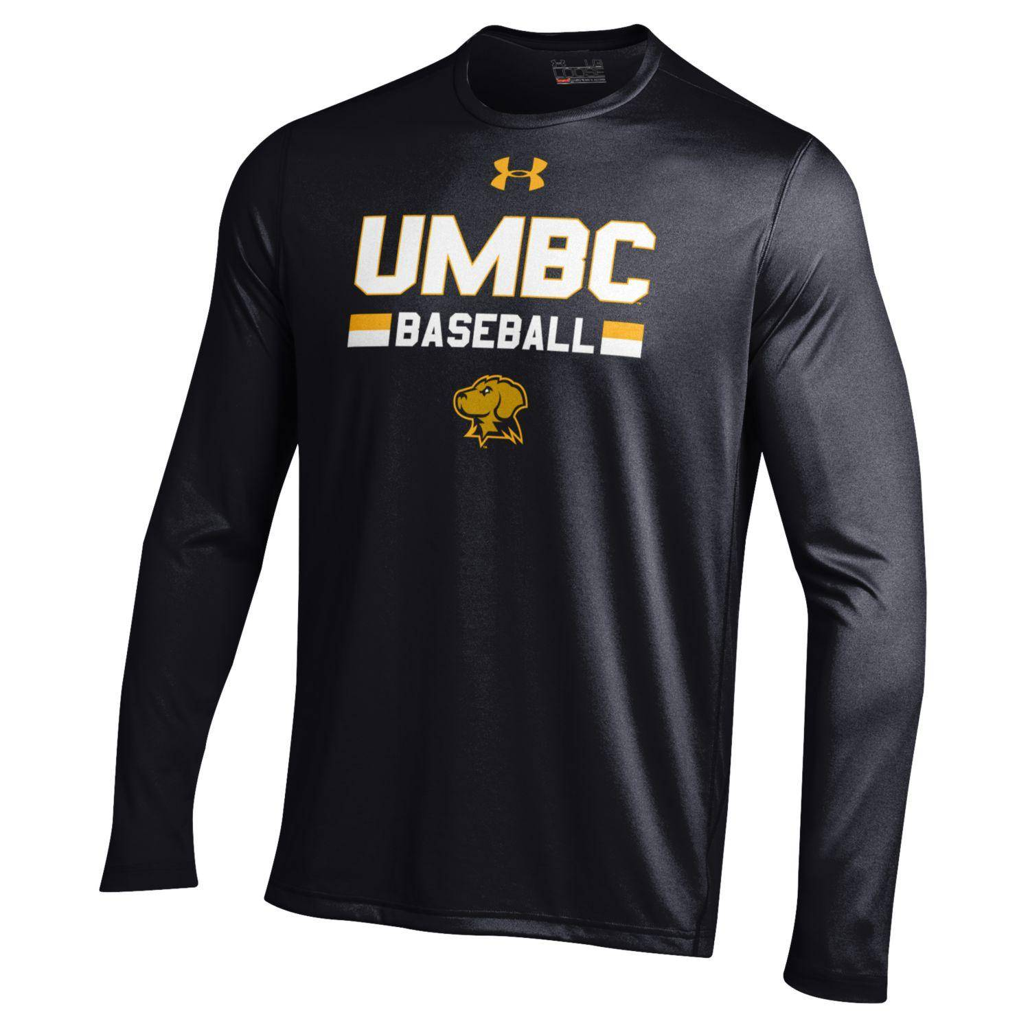 903b9a299 Image For BASEBALL UNDER ARMOUR UMBC LONG SLEEVE TECH