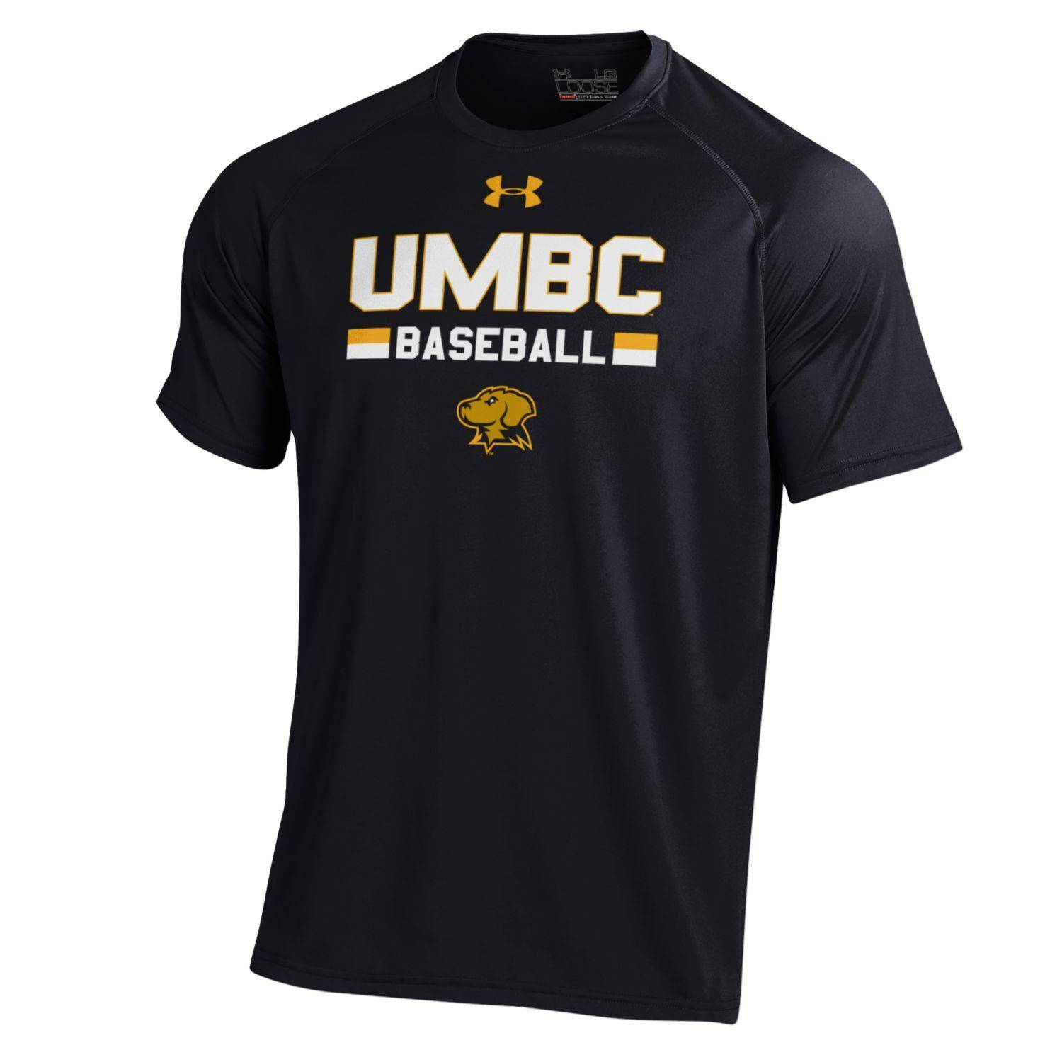 Image For BASEBALL UNDER ARMOUR UMBC NUTECH T-SHIRT