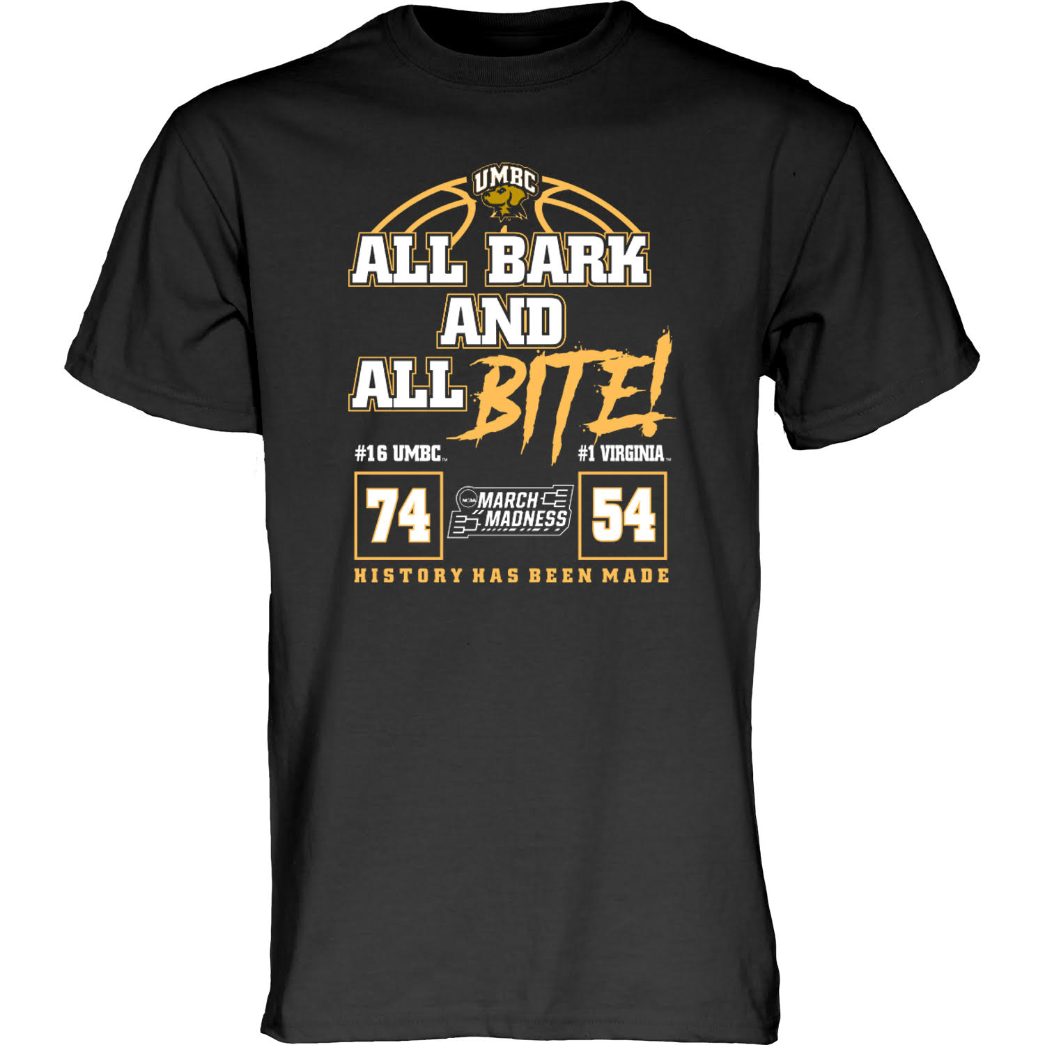 Image For ** NCAA BARK & BITE T-SHIRT **
