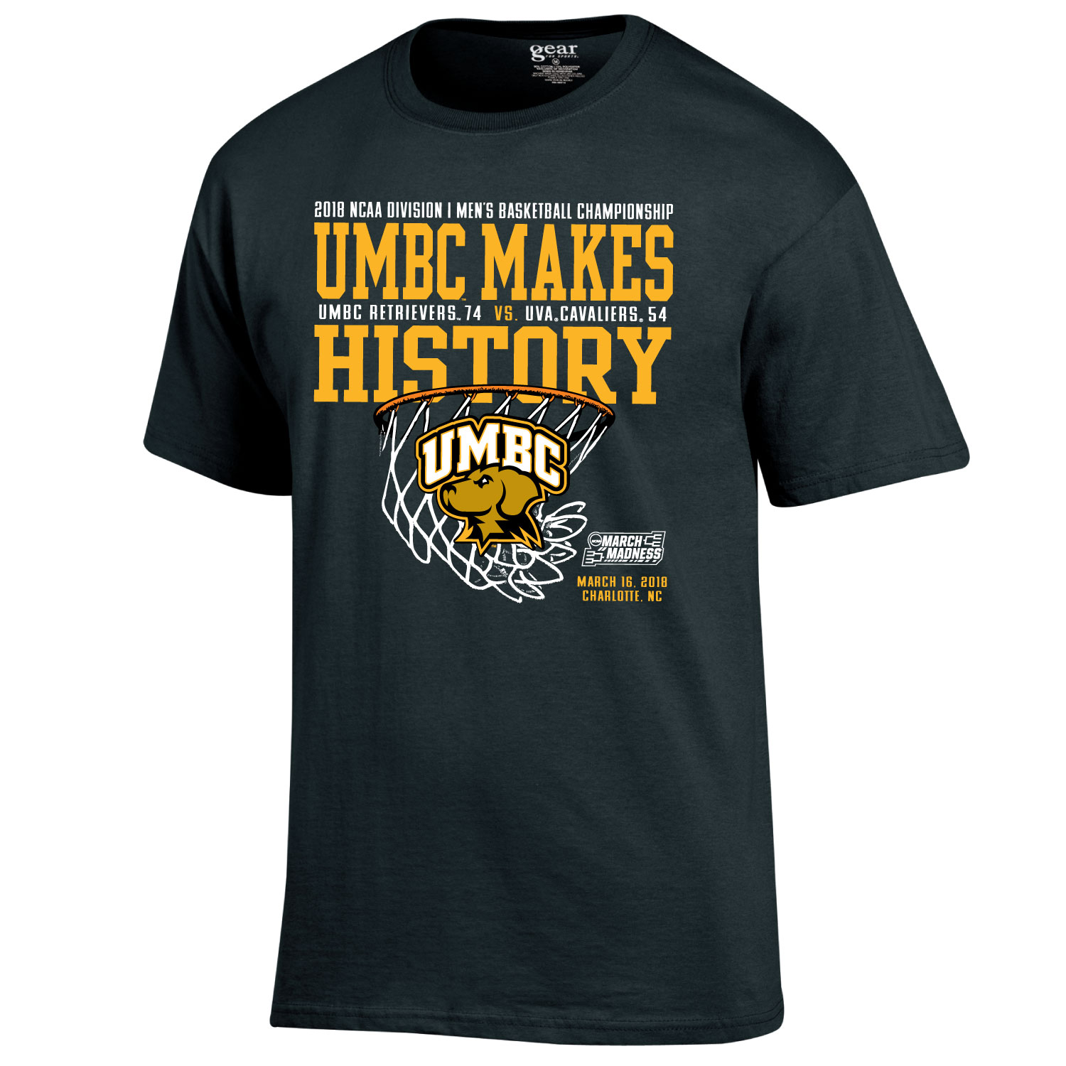 Image For ** T-SHIRT: NCAA MAKING HISTORY **