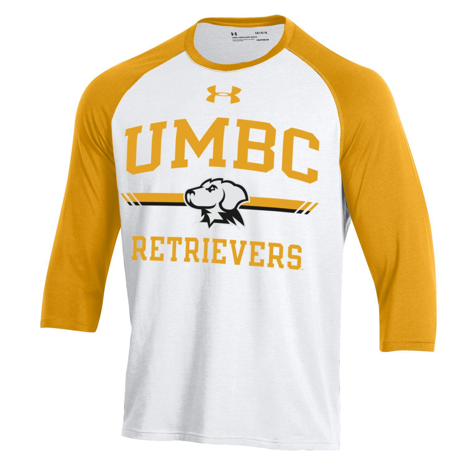 Image For THREE-QUARTER SLEEVE T-SHIRT: UNDER ARMOUR BASEBALL