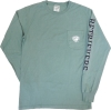 Image for LONG SLEEVE T-SHIRT: COMFORT WASH POCKET