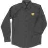 Image for BUTTON SHIRT: DOBBY BLACK
