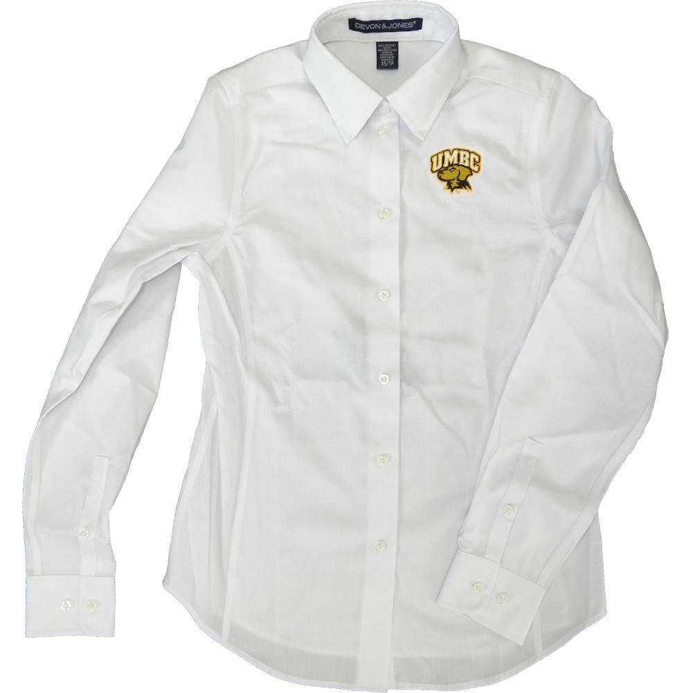Image For BUTTON SHIRT: DOBBY WHITE