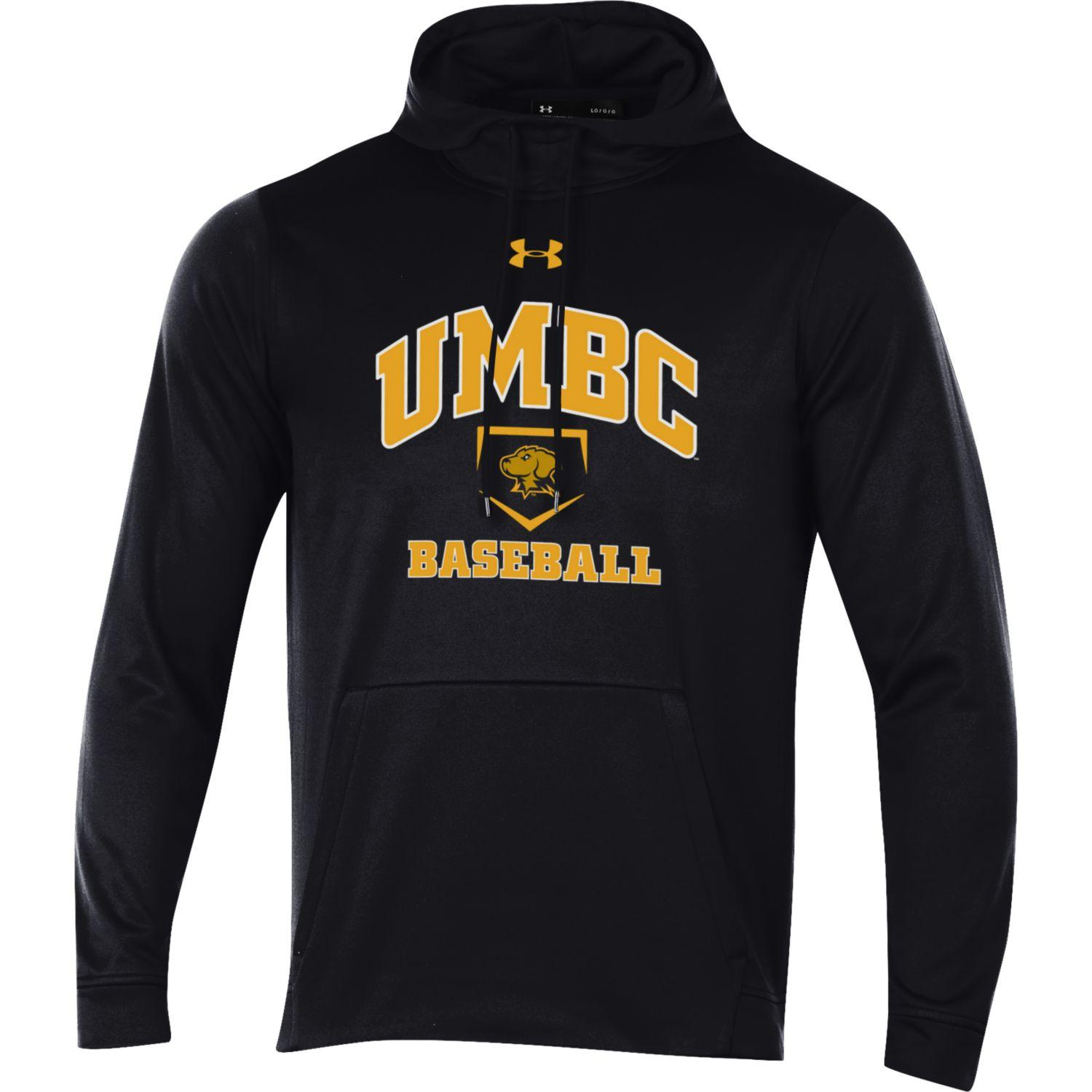Image For BASEBALL UNDER ARMOUR FLEECE HOODED SWEATSHIRT