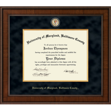 Image For CHURCH HILL MADISON DIPLOMA FRAME WITH MEDALLION