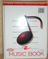 Image For MUSIC BOOK SPIRAL