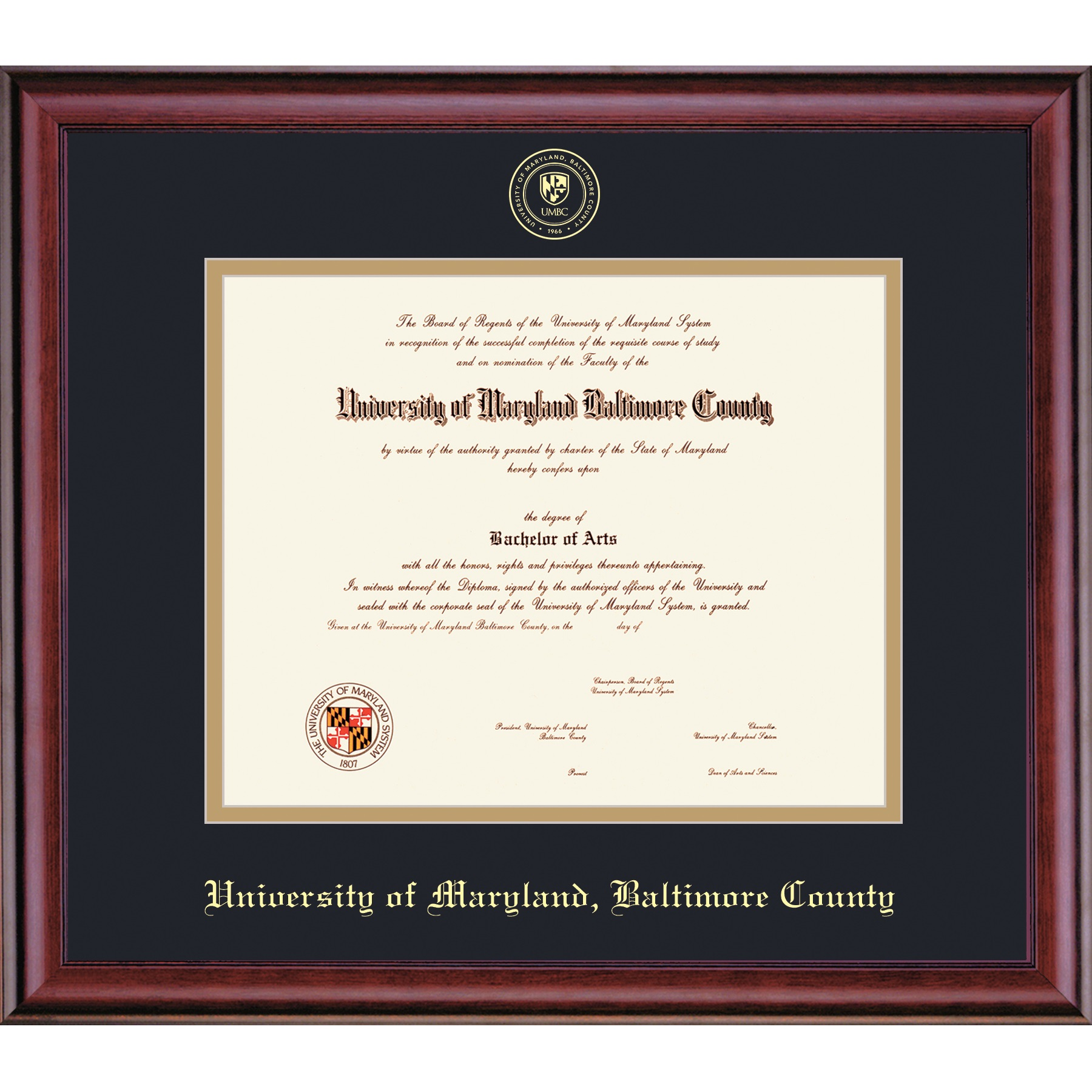 Image For FRAMING SUCCESS CLASSIC DIPLOMA FRAME EMBOSSED
